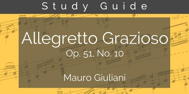 study guide giuliani guitar