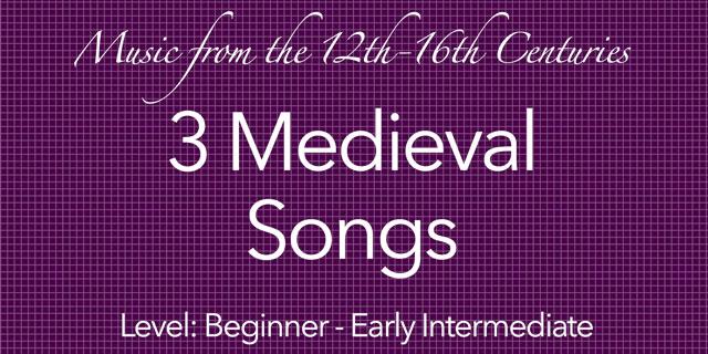 medieval guitar songs