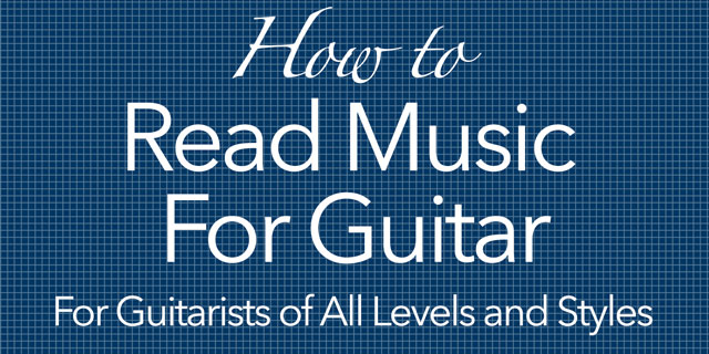 how to read music for guitar