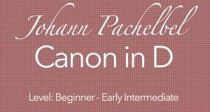 pachelbel's canon guitar