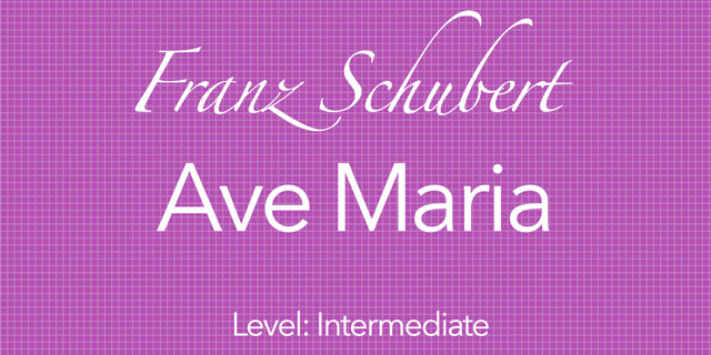 ave maria schubert classical guitar